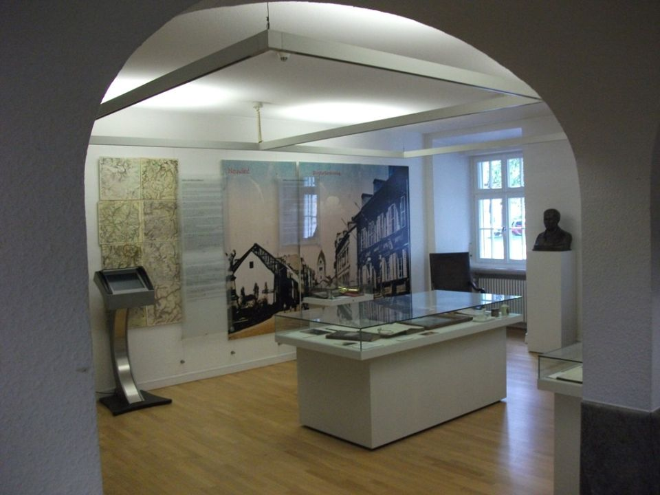 Raiffeisenabteilung Im Roentgen Museum Kreisverwaltung Neuwied
